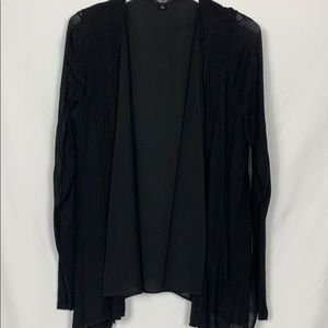 Simply Vera black cardigan sweater size Lg